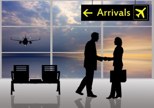 Airport Meet and Greet Landing Page - 123rf