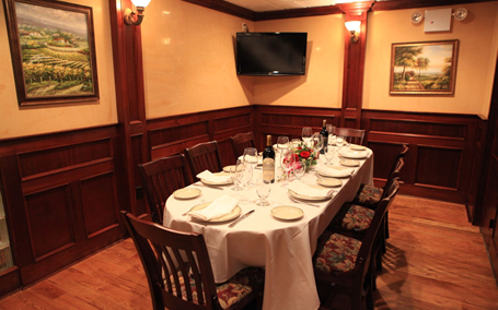 Ben and Jacks Steakhouse mahogany room