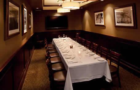 Palm Restaurant Boardroom