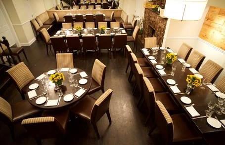 Parlor Steak Fish room