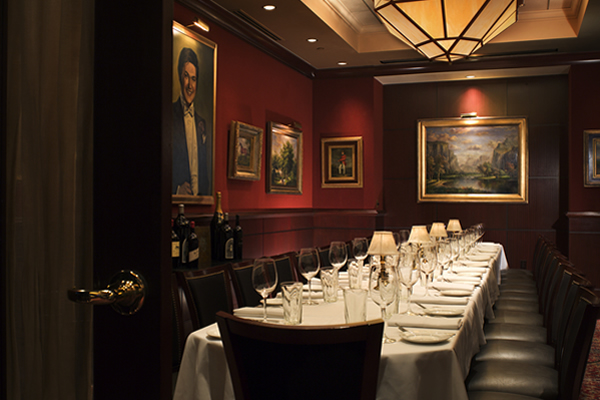 Capital Grille lv club room